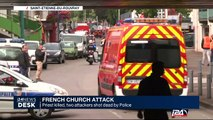 Priest killed, two attackers shot dead by French Police in French Church attack