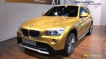 Paris 2008 : BMW X1 Concept