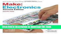 Read Books Make: Electronics: Learning Through Discovery E-Book Download