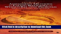 [PDF] Handbook of Assessment Methods for Eating Behaviors and Weight-Related Problems: Measures,