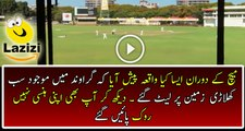 See What happened During New Zealand and Zimbabwe Match