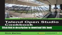 talend open studio cookbook pdf