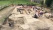 Fouilles archéologiques à l'abbaye