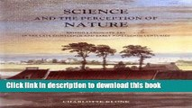 Read Book Science and the Perception of Nature: British Landscape Art in the Late Eighteenth and