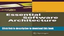 PDF Download] Essential Software Architecture [Read] Online