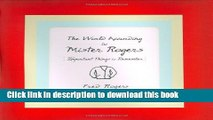 Read The World According to Mister Rogers: Important Things to Remember Ebook Free