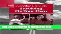 PDF AGS Everyday Life Skills: Surviving on Your Own (Student