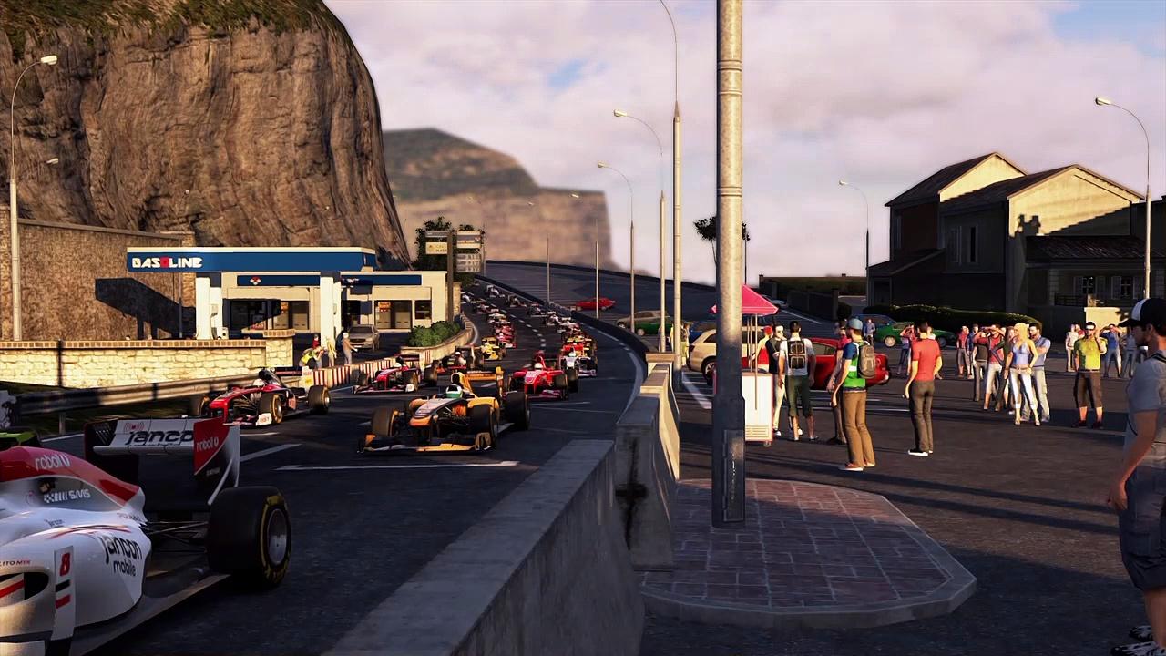 Project Cars Formula One Azure Coast