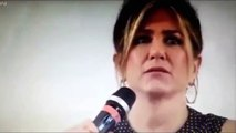 Jennifer Aniston gets emotional at Italian Film Festival