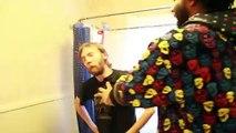 Smack Cam - 7 Ft Tall Guy Smacks Guy on The Toilet