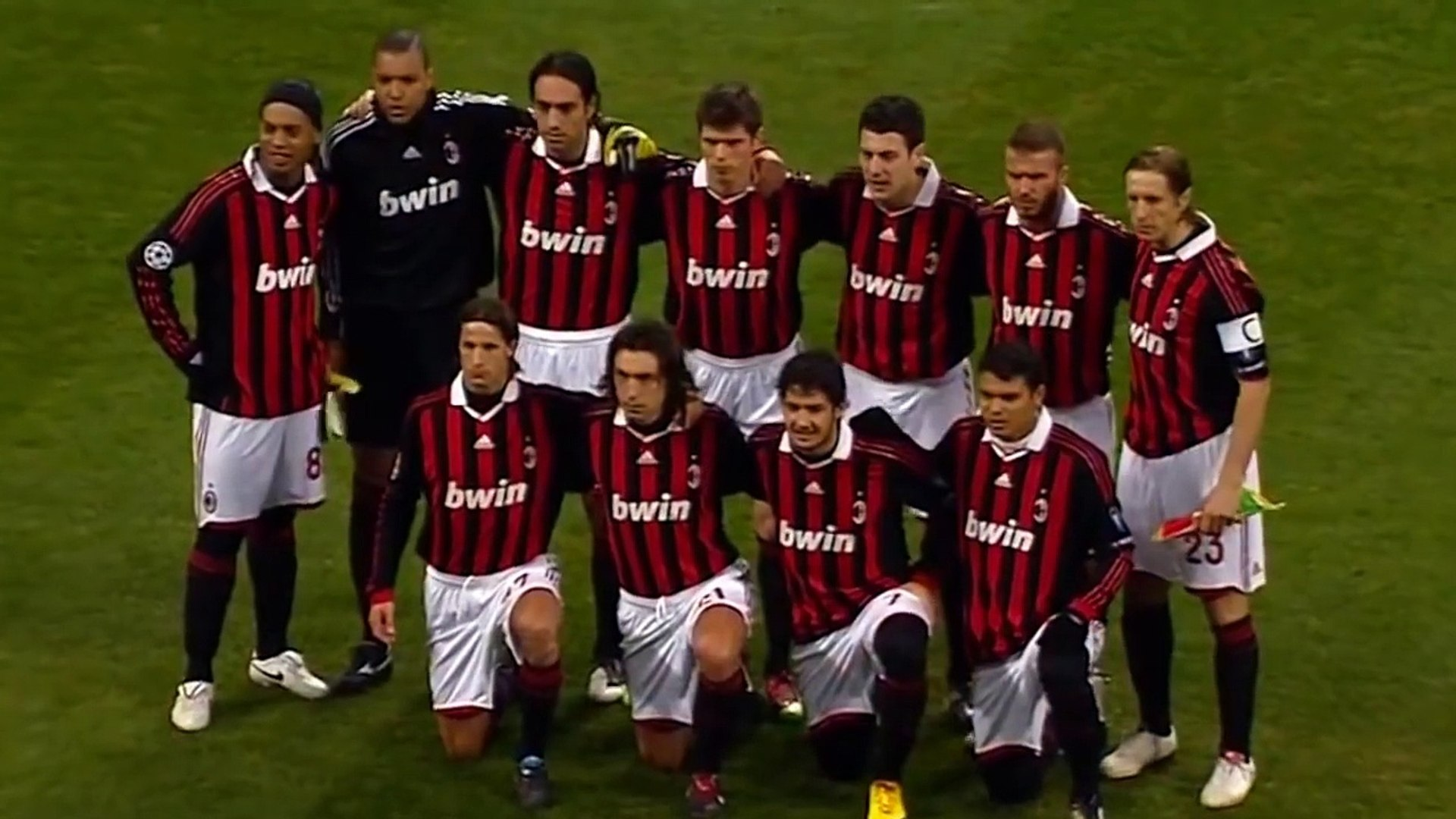 Ac Milan Vs Manchester United 2 3 Highlights Ucl Round Of 16 2009 10 Video Dailymotion
