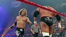 John Cena vs Triple H vs Edge Bloody Match WWE Backlash 2006 Not Fake