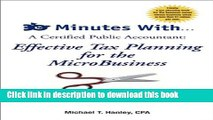 Read Book 30 Minutes With...A Certified Public Accountant: Effective Tax Planning for the