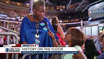 Emotional roll call as Democrats nominate Hillary Clinton for president