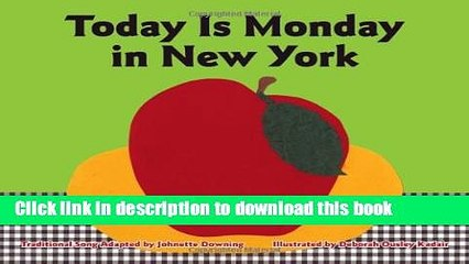 [PDF] Today Is Monday in New York Download Online