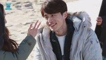 이동욱, 바닷가에서 '먹방' 펼친 사연은?!