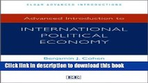 [PDF] Advanced Introduction to International Political Economy (Elgar Advanced Introduction)