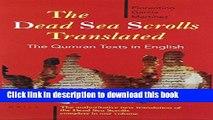 [PDF] The Dead Sea Scrolls Translated: The Qumran Texts in English [Read] Full Ebook