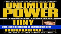 [Read PDF] Unlimited Power : The New Science Of Personal Achievement Download Free