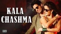 Kala Chashma Baar Baar Dekho Sidharth Malhotra & Katrina Kaif
