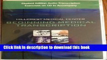 Read Books Student Edition Audio Exercises on CD for Ireland/Stein s Hillcrest Medical Center: