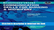 [PDF]  Essential Communication Skills for Nursing and Midwifery (Essential Skills for Nurses)