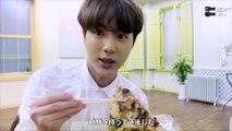 日本語字幕  防弾少年団 (BTS) EAT JIN season2 160725