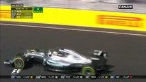 Lewis Hamilton fait un doigt d'honneur à Gutierrez en plein Grand Prix de Hongrie