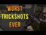 WORST TRICKSHOTS EVER! (Reacting to my old trickshots)