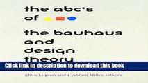 Read ABC s of the Bauhaus:: The Bauhaus and Design Theory  Ebook Free