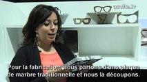 TV Reportage Mido 2016 : Des lunettes en marbre ! Les créateurs expliquent la fabrication et le montage