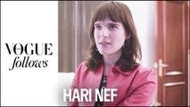 Hari Nef : une journée de Fashion Week avec le mannequin transgenre | #VogueFollows | VOGUE PARIS