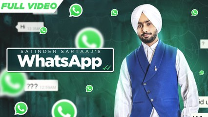 New Punjabi Songs 2016 | Whatsapp | Satinder Sartaaj | Jatinder Shah | Latest Punjabi Songs 2016