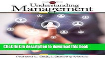 Read Understanding Management PDF Online