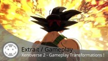 Extrait / Gameplay - Dragon Ball Xenoverse 2 (Gameplay Transformations Multi Persos)