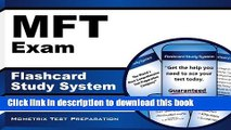 Read MFT Exam Flashcard Study System: Marriage and Family Therapy Test Practice Questions   Review