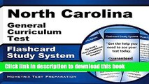 Read North Carolina General Curriculum Test Flashcard Study System: Practice Questions   Exam