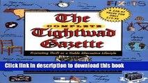 Read The Complete Tightwad  Gazette  Ebook Free