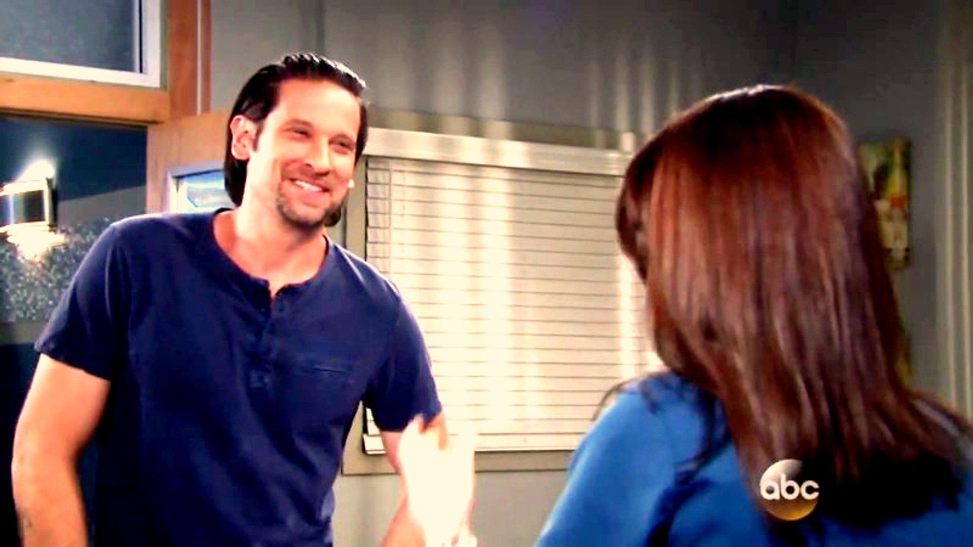 Franco Visits Elizabeth After Naomi Leaves The Hospital To Visit Heather ~ GH