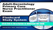 Read Adult-Gerontology Primary Care Nurse Practitioner Exam Flashcard Study System: NP Test