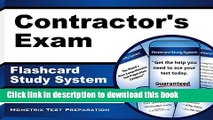 Read Contractor s Exam Flashcard Study System: Contractor s Test Practice Questions   Review for