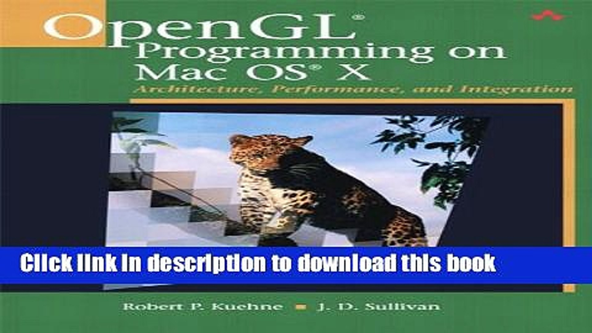 Read OpenGL Programming on Mac OS X: Architecture, Performance, and  Integration (Adobe Reader)