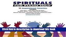 Read Book Spirituals for Piano Solo ebook textbooks