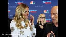 Heidi Klum and Howie Mandel America's Got Talent 11 Top 36 Live wk 1 Interview
