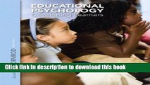 Read Educational Psychology: Developing Learners Plus NEW MyEducationLab with Video-Enhanced
