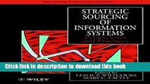 Read Strategic Sourcing of Information Systems: Perspectives and Practices  PDF Online