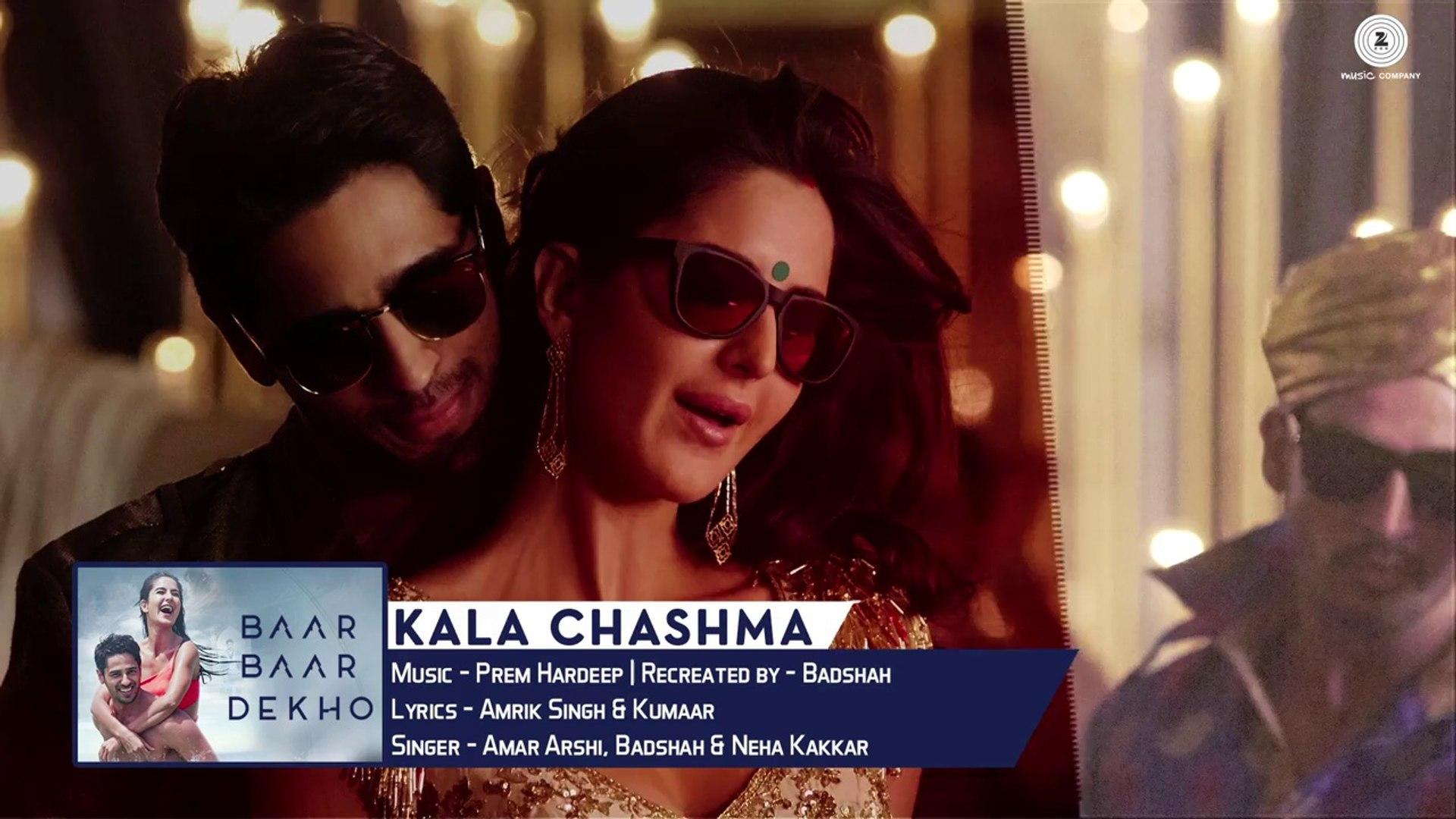 Kala Chashma -Full Song   Baar Baar Dekho   Sidharth Malhotra Katrina Kaif 
