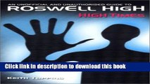 Read High Times: The Unofficial and Unauthorized Guide to Roswell High Ebook Free