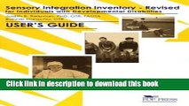 [PDF] Sensory Integration Inventory for Individuals With Developmental Disabilities [PDF] Full Ebook