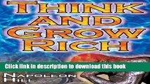 [PDF] Think and Grow Rich: Napoleon Hill s Ultimate Guide to Success, Original and Unaltered; The